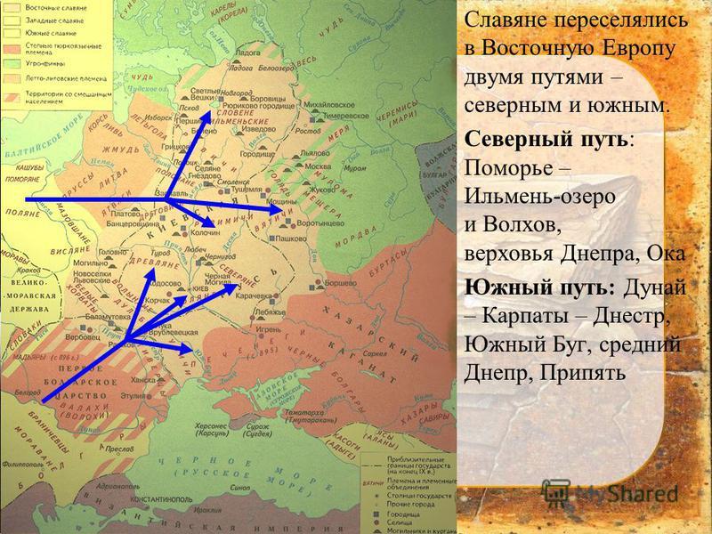 Соседи Восточных Славян Презентация
