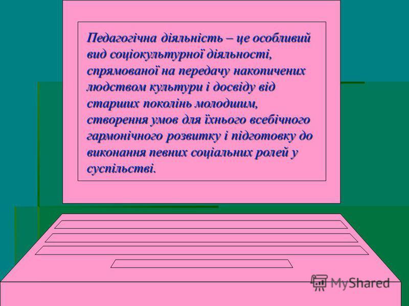 ПЛАН П Педагогічна діяльність Стиль професійної діяльності педагога