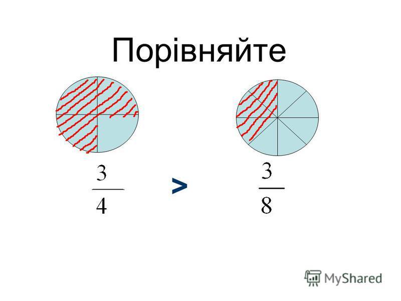 Порівняйте. 4 1 4 3 >