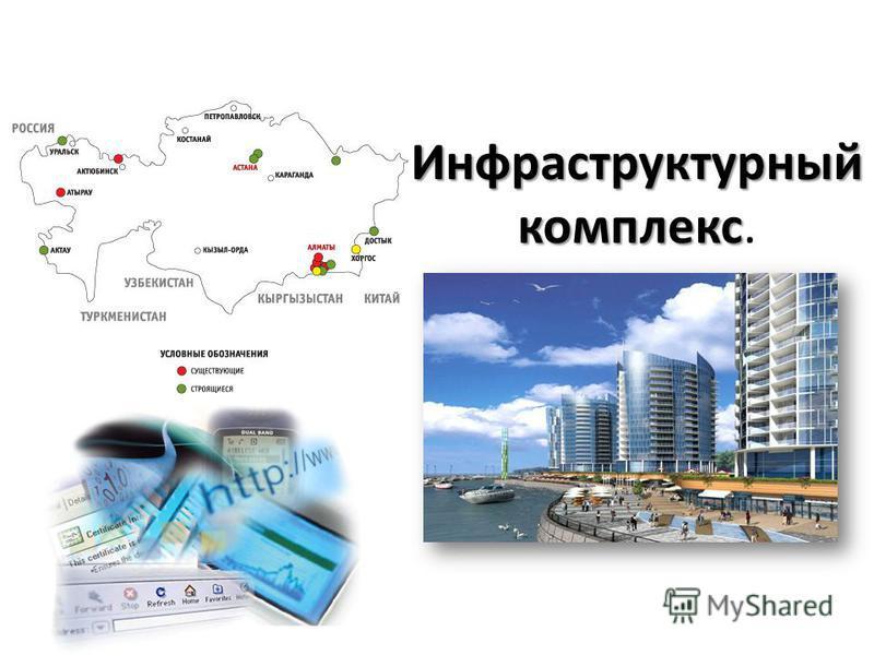 Инфраструктурный комплекс Инфраструктурный комплекс.