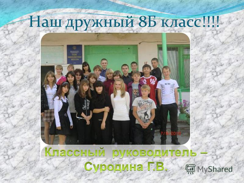 Наш дружный 8Б класс!!!!
