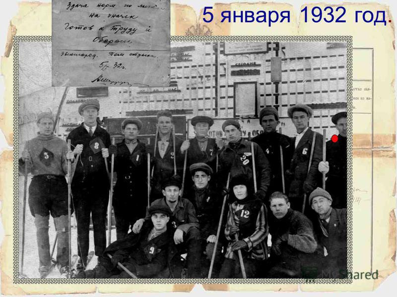 1931 год. Год поступления в вечерний Московский институт холодильной промышленности