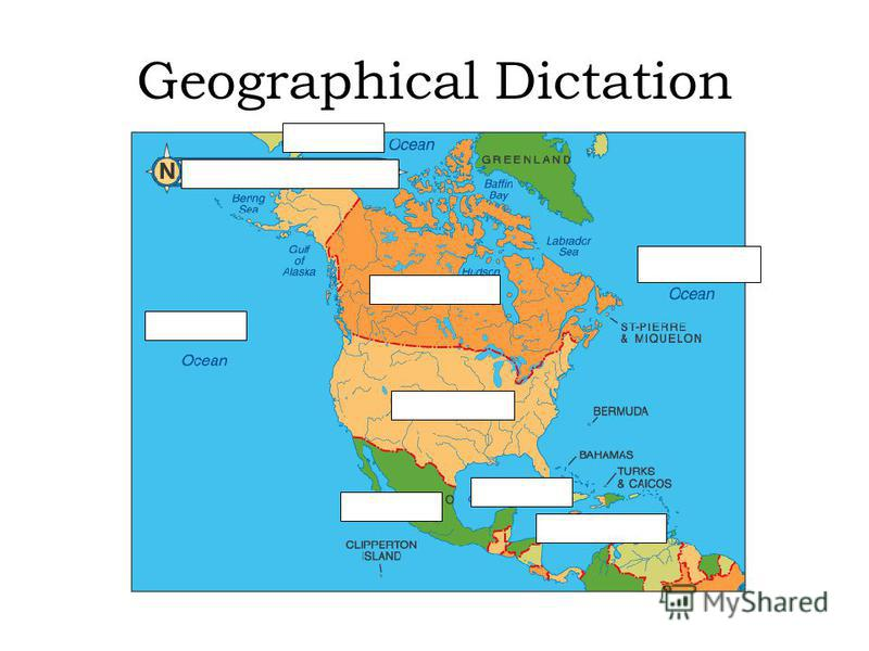 Geographical Dictation