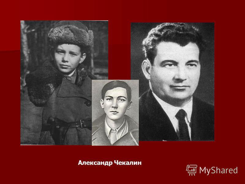 Александр Чекалин