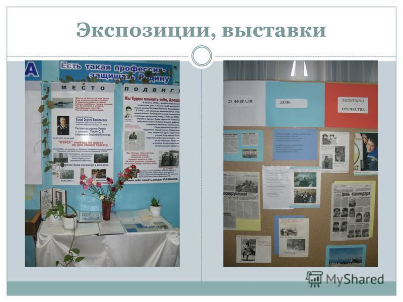 Экспозиции, выставки