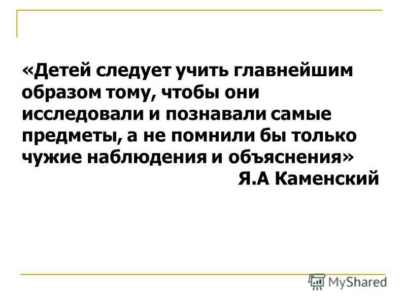 Проектная деятельность школьников. Садовникова Н.Л.