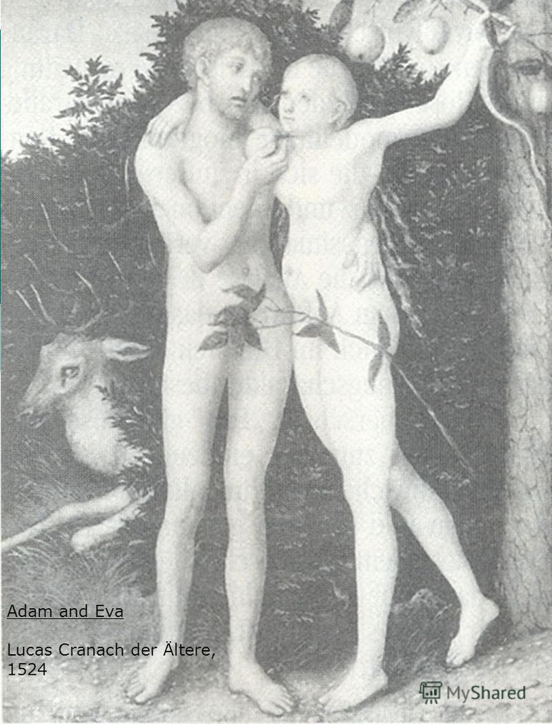 Adam and Eva Lucas Cranach der Ältere, 1524