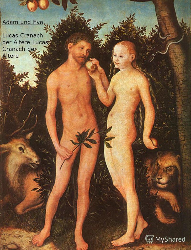 Adam und Eva Lucas Cranach der Ältere