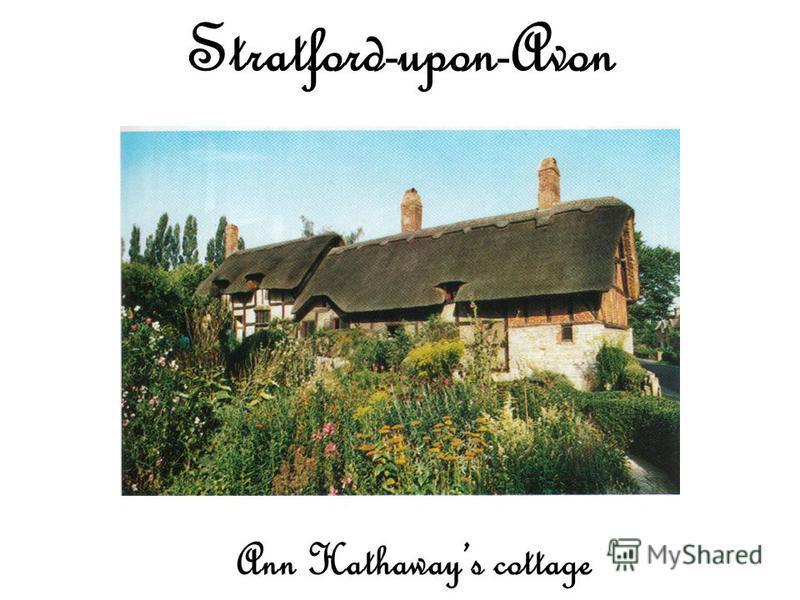 Ann Hathaways cottage Stratford-upon-Avon