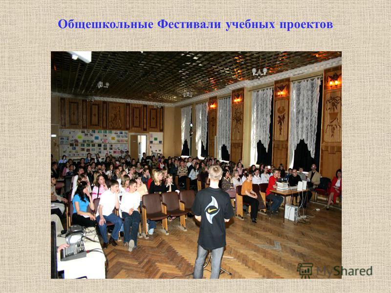 Общешкольные Фестивали учебных проектов