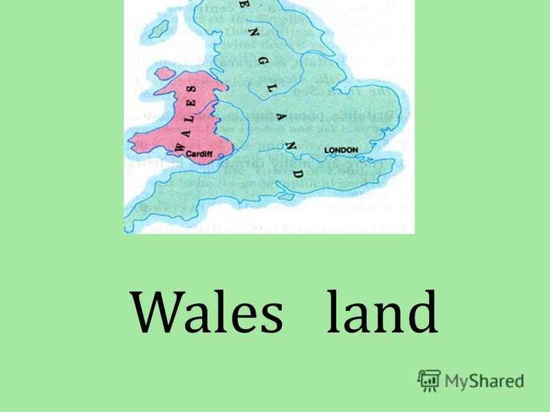 Wales land