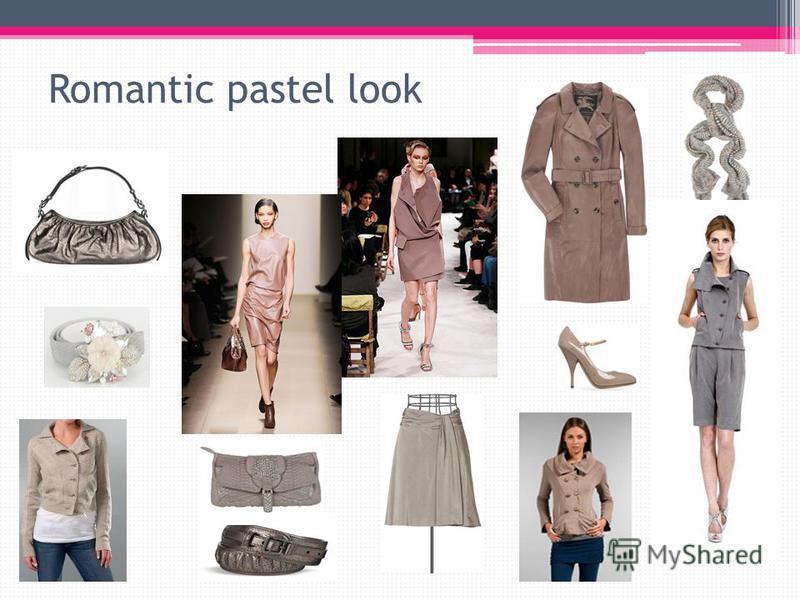 Romantic pastel look
