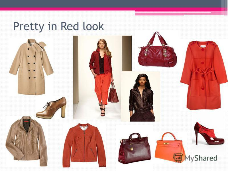 Pretty in Red look