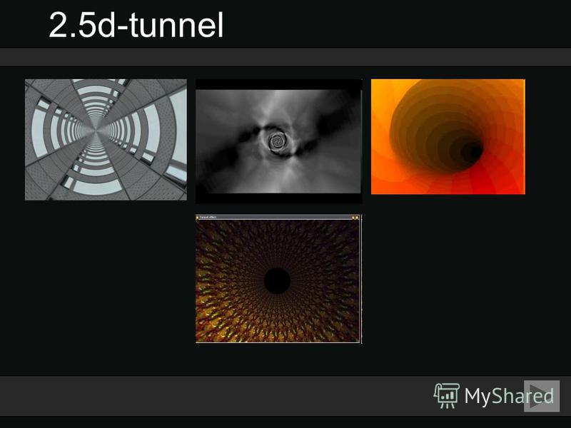 2.5d-tunnel