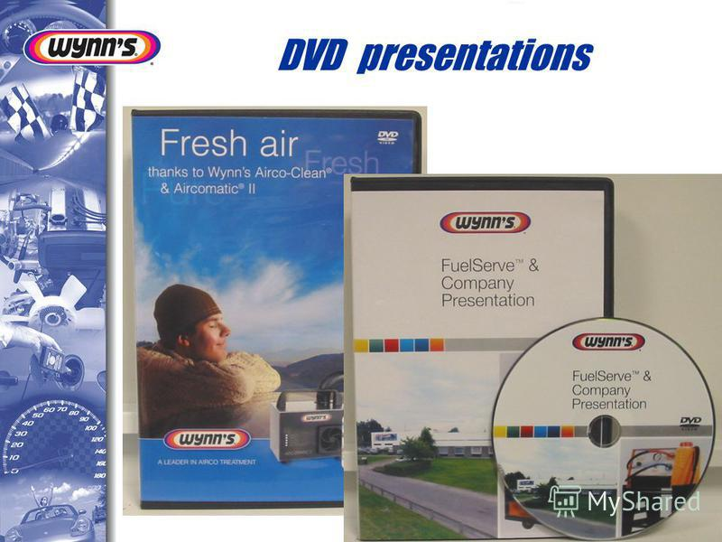 DVD presentations