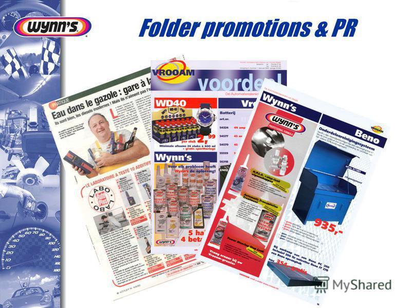 Folder promotions & PR
