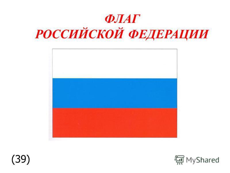 ФЛАГ РОССИЙСКОЙ ФЕДЕРАЦИИ (39)
