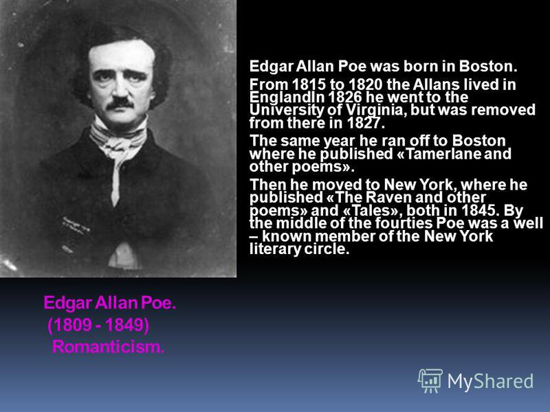an analysis of the brilliance and uniqueness in the literary styles of edgar allan poe and john updi Edgar went to live with john allan who was a edgar alan po (edgar allan poe in the development of poe's unique writing styles and.