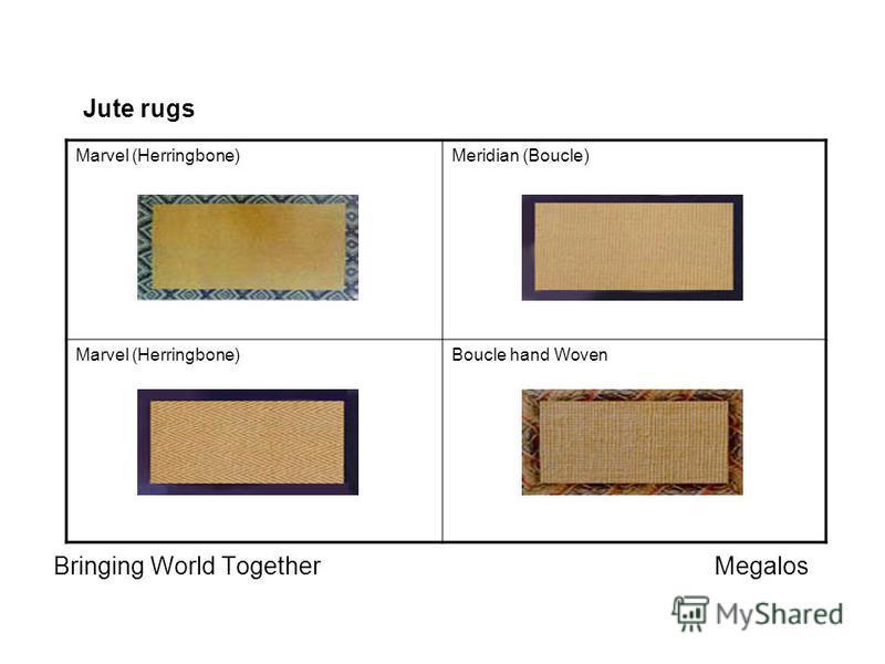 Marvel (Herringbone)Meridian (Boucle) Marvel (Herringbone)Boucle hand Woven Jute rugs