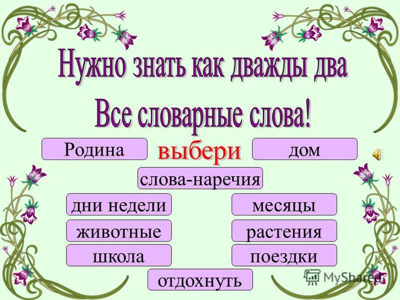 2 класс Русский язык Тренажёр