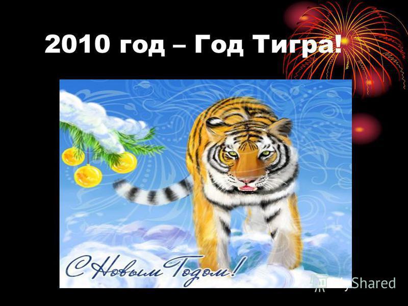 2010 год – Год Тигра!
