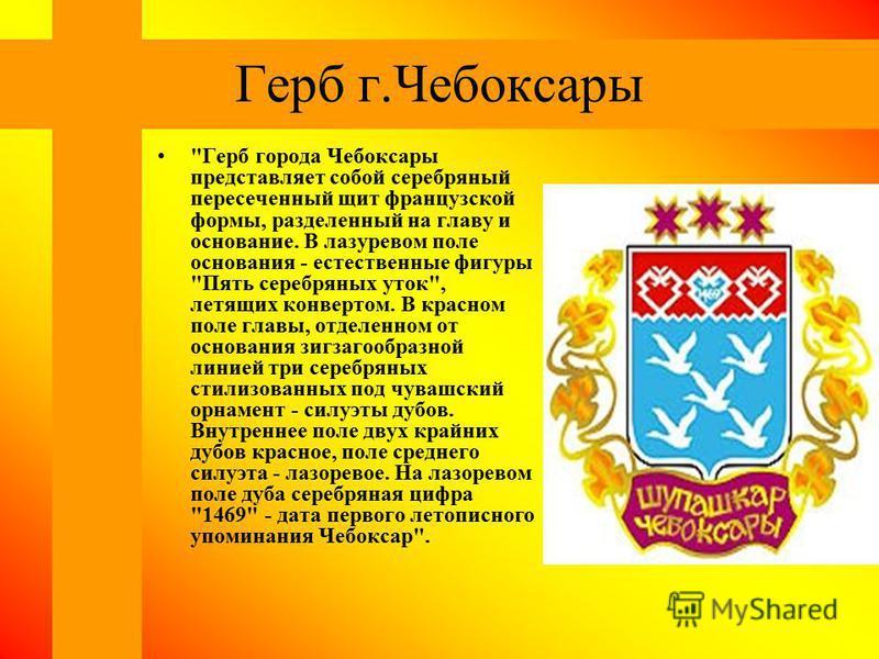 Герб г.Чебоксары