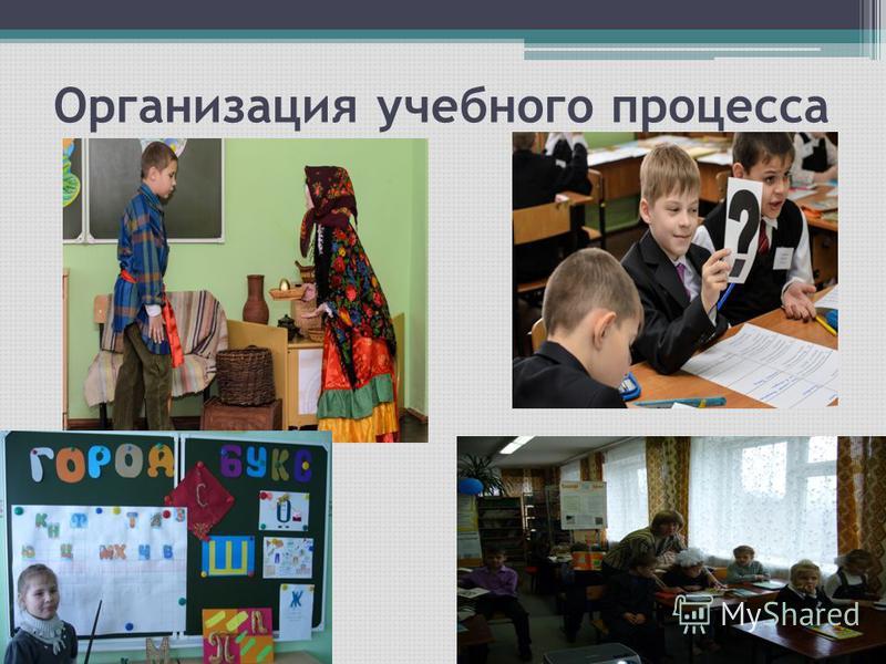 Организация учебного процесса