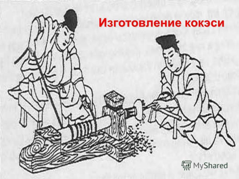 Изготовление кокэси