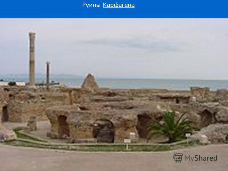 Руины Карфагена Карфагена