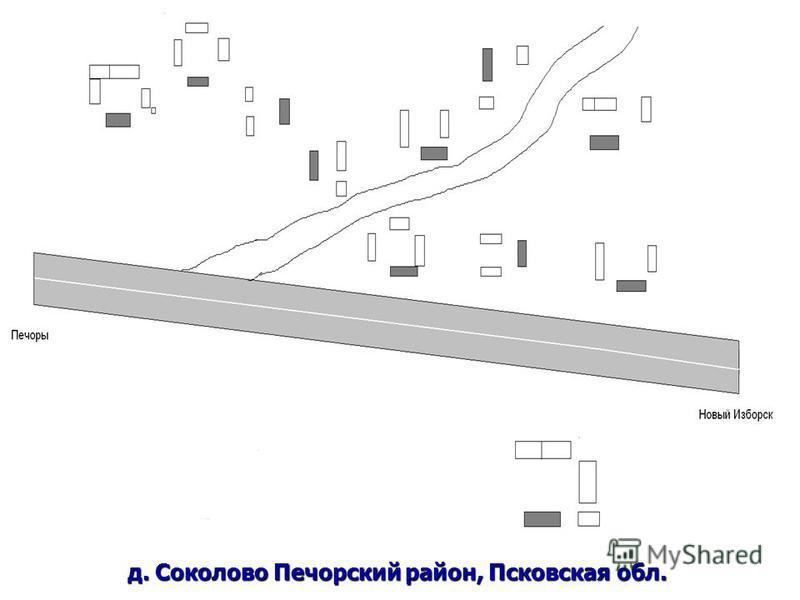 д. Соколово Печорский район, Псковская обл.
