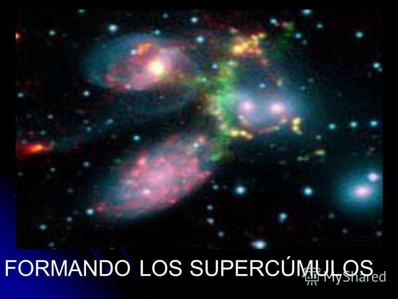 FORMANDO LOS SUPERCÚMULOS