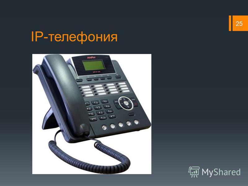 IP-телефония 25