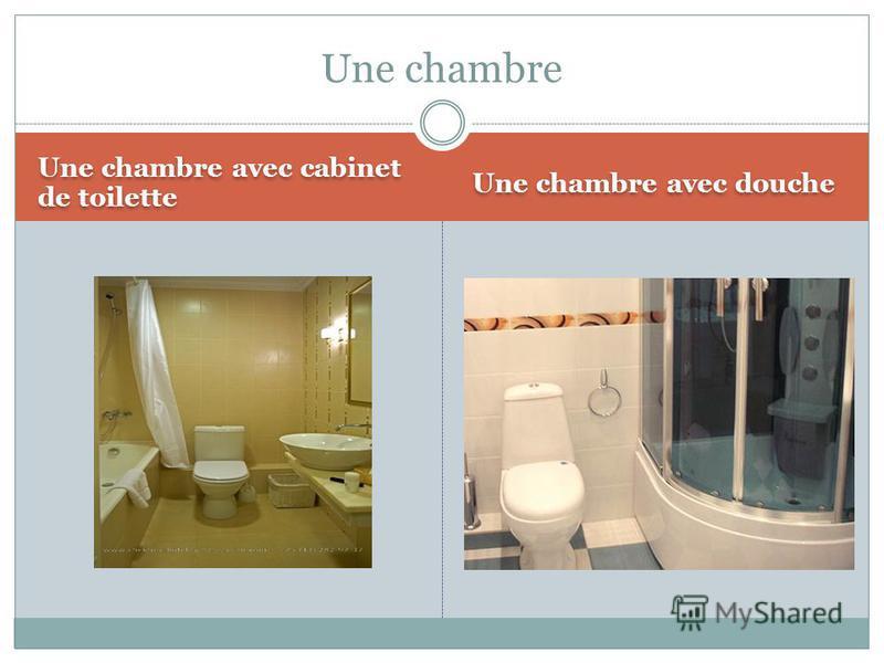 Une chambre avec cabinet de toilette Une chambre avec douche Une chambre