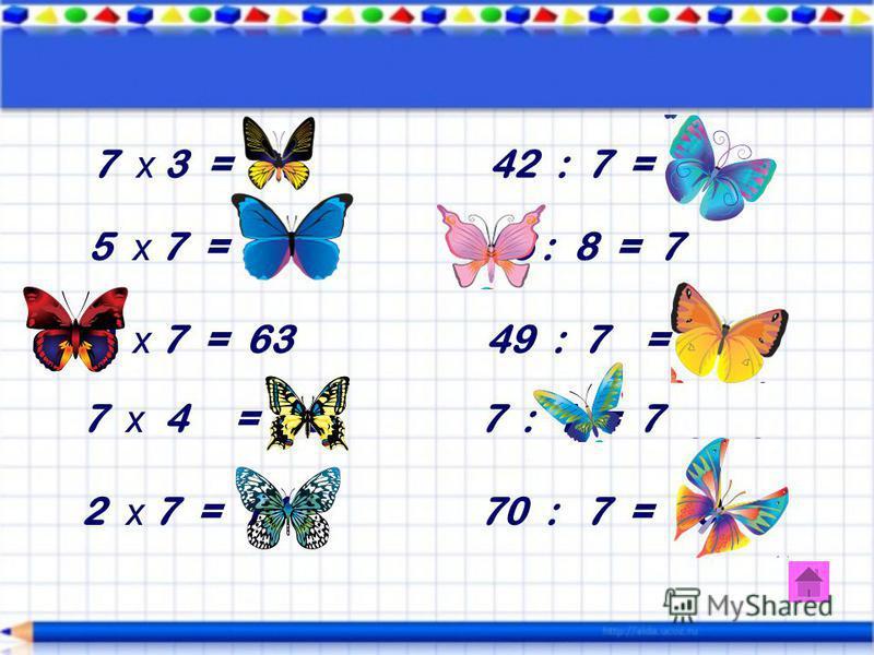 6 * 8 = 48 24 : 4 = 6 3 * 6 = 18 42 : 6 = 7 6 * 6 = 36 6 : 6 = 1 2 * 6 = 12 30 : 5 = 6 6 * 5 = 30 48 : 6 = 8