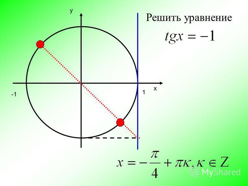 х y 1 Решить уравнение