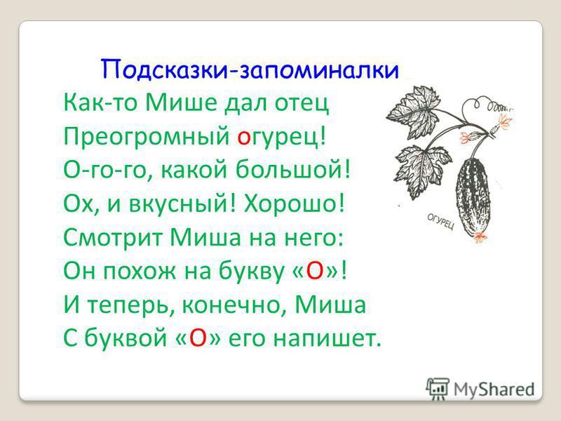 Предложения, тексты 1)Пусто было в огороде: ни морковки, ни огурчика. (Л. Воронкова) 2) Огурей лежит на грядке, прикрывается листом. (А. Шлыгин) 3) До обеда Таня решила полить огуречные грядки. 4) Огуречник это травянистое растение с голубыми цветами