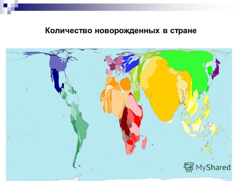 Количество новорожденных в стране