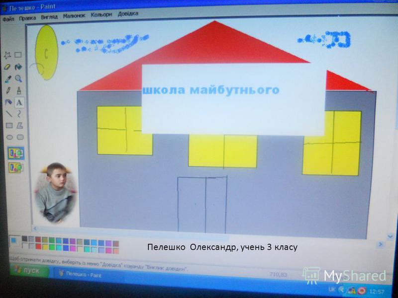 Пелешко Олександр, учень 3 класу