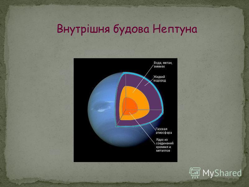 Внутрішня будова Нептуна