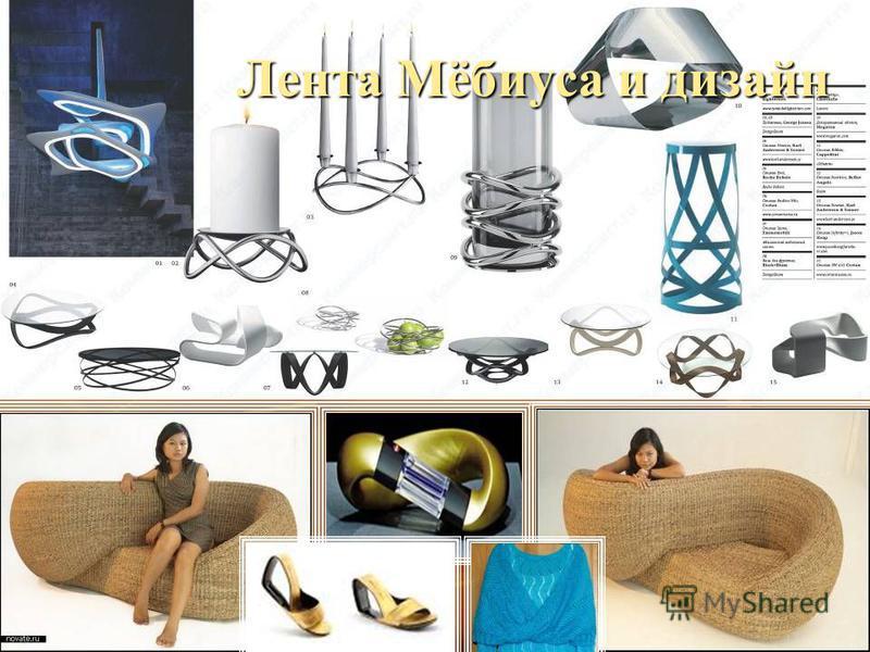 Лента Мёбиуса и дизайн
