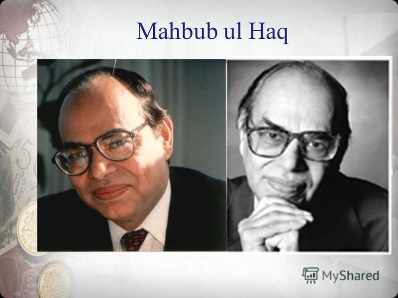 Mahbub ul Haq