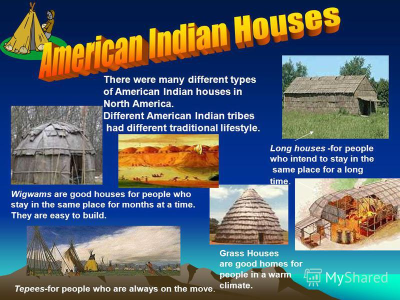 Long before the white man set foot for Different types of houses in usa