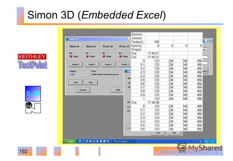 192 Simon 3D (Embedded Excel)