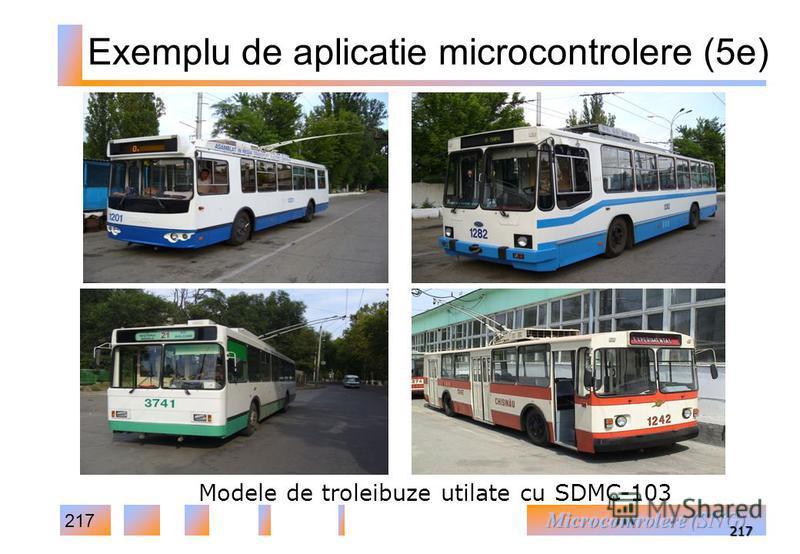 217 217 Modele de troleibuze utilate cu SDMC-103 Exemplu de aplicatie microcontrolere (5e)