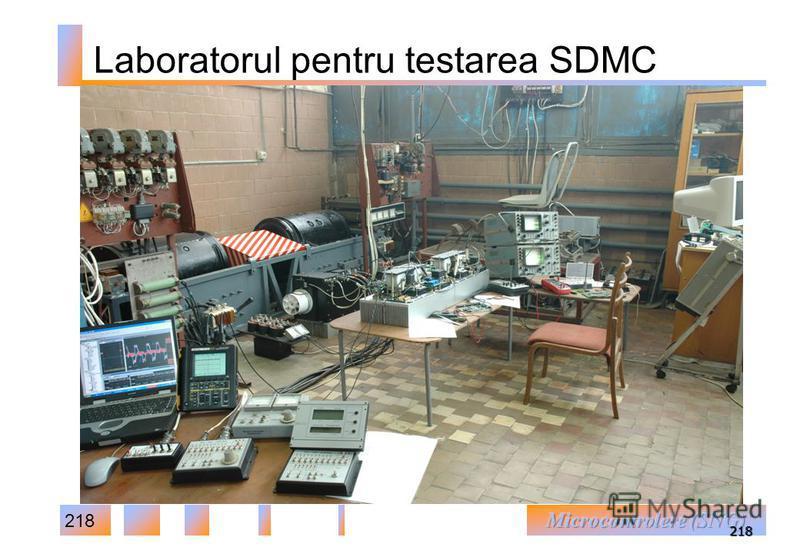 218 218 Laboratorul pentru testarea SDMC