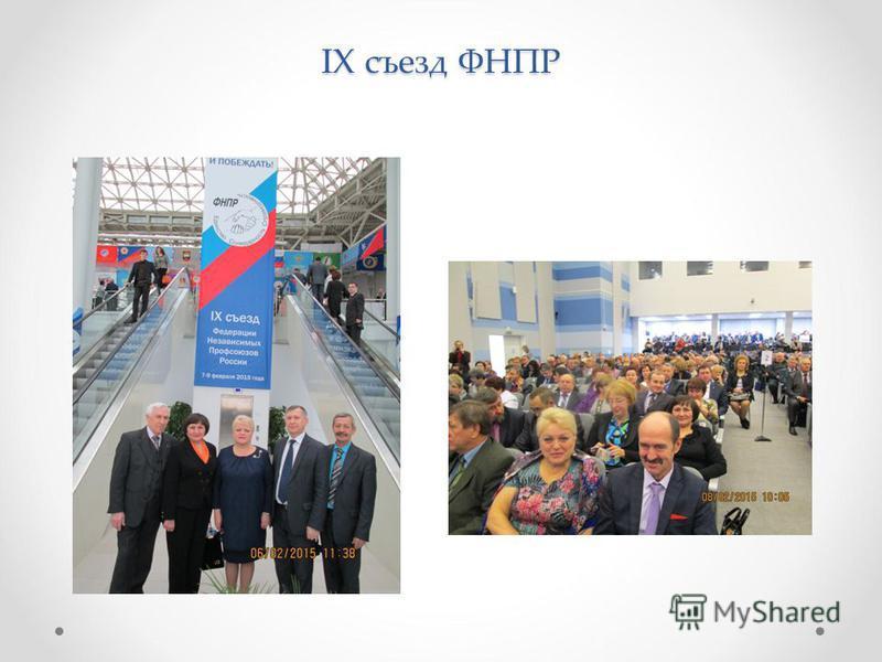 IX съезд ФНПР
