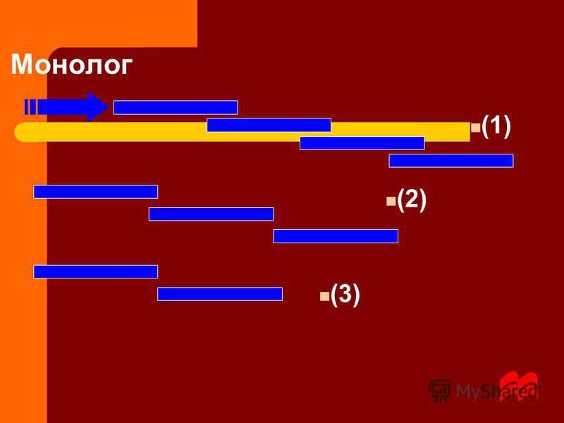Монолог (1) (2) (3)