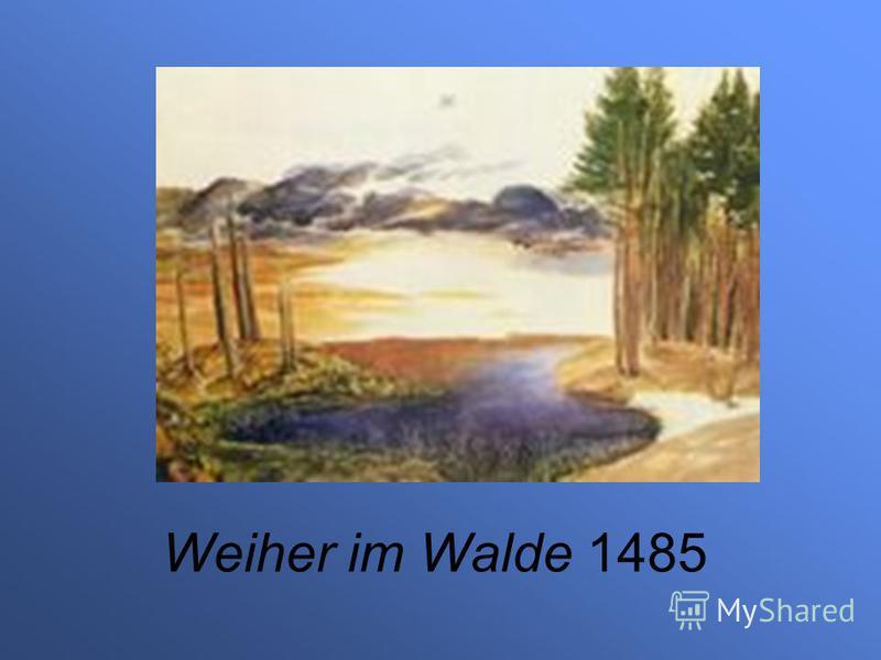 Weiher im Walde 1485