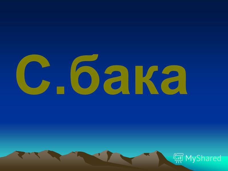 С.бака