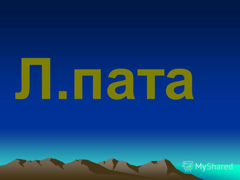 Л.пата